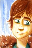 Hiccup Watercolor by masterrohan