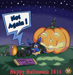 Lucario's Terrifying Loss by StyledFawn476