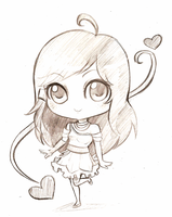 Ashe Chibi by Theherois--me