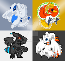 Pkmn Legendaries by Humanoid-Magpie