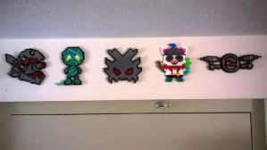 League of Legends Bead Art by LivingDeadProduction