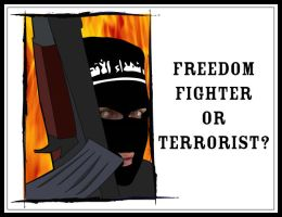 Freedom Fighter or Terrorist? by Free-Palestine