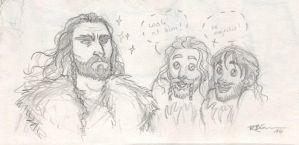 Thorin..... and Kili and Fili by CaptBexx