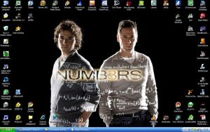 numb3rs - my desktop by ibx93