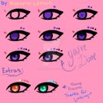 How to color: Eyes [Updated] by Madame-Lemon