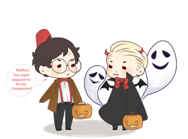 Drarry Halloween#1 by Cremebunny