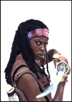 Michonne - The Walking Dead by TheSig86