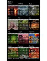 Printable 2011 Calendar by La-Vita-a-Bella