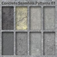 Concrete Seamless Pattern 03 by bosanza