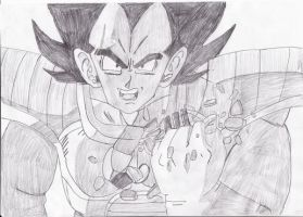 Over 9000 Drawing by SmashBros2008