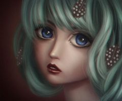 anime portrait by Zhenilex
