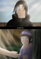 Itachi - Hinata / Love Is . by Ritsucat