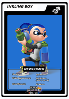 Inkling Boy newcomer card by birdman91