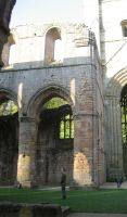Fountains Abbey Interior by Duamuteffe