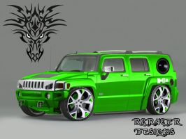 Dragon Hummer by rcracer
