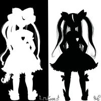 White and Black by Mikado13