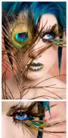 Peacock Eyes. by Ryo-Says-Meow