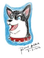 Tablet Doodle: Dog by Gothar-is-Rodge