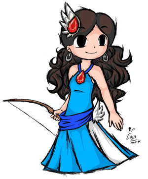 The Enigmatic Princess Wind Waker style by ChristalLovePkmn