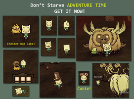 FINN Don't Starve character by Foxygene