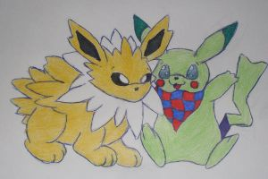 Jolteon And Leather Bell by SocialButter