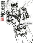 Wolverine Sketch Cover by bphudson