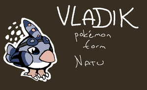 Vladik - pokemon form by V1KA