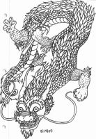 Chinese Dragon by xMaiyahx