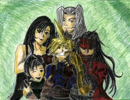 Final Fantasy VII Group by dragonheart