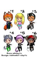 Chibi Adopt Auction Points/Cash 3/6 OPEN by rainbowkit-adopts
