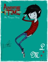 Marshall Lee: The Vampire King by Arekusan-Meka
