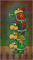 Paper Mario 64: The Koopa Bros. by Cavea