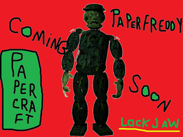 The Return To Freddy S 3 Lockjaw coming soon !!! by paperfreddy