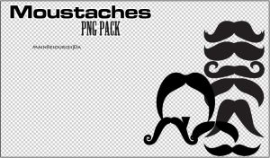 Moustaches PNG's by MainResources