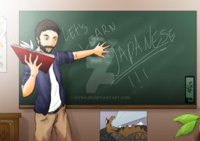 Let's Learn Japanese by Kitsu-DR