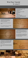 Wire Pony Tutorial by eightup747