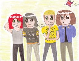 My Chemical Romance =3 by Morbybiggestfan