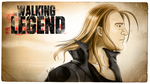 The Walking Legend - Old Style Poster by Roselyne777