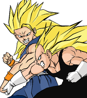 DBUC: SSJ3 Battle Colored by darkhawk5