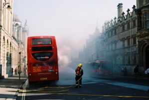 High Street Fire by WillAustinsArchive