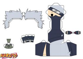 Kakashi Hatake by PiercePapercraft
