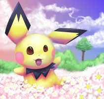 Pichu by Pand-ASS