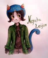 Nepeta Leijon~ [Homestuck] by mell1you0