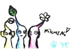 Pikmin by GhettoRainbowCat