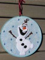 Olaf The Snowman by WestCoastCreator