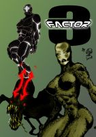 NOW IN MARFIL COMICS: 3 FACTOR by MUTANERDA