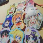 Love Live Keychains! by Nowii