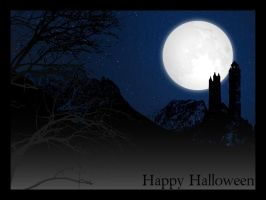 halloween wallpaper 2009 by montroytana