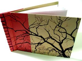 Winter Trees Sketchbook by NevermindThis