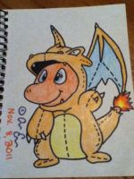 Silly Charmander by HollieCat13
